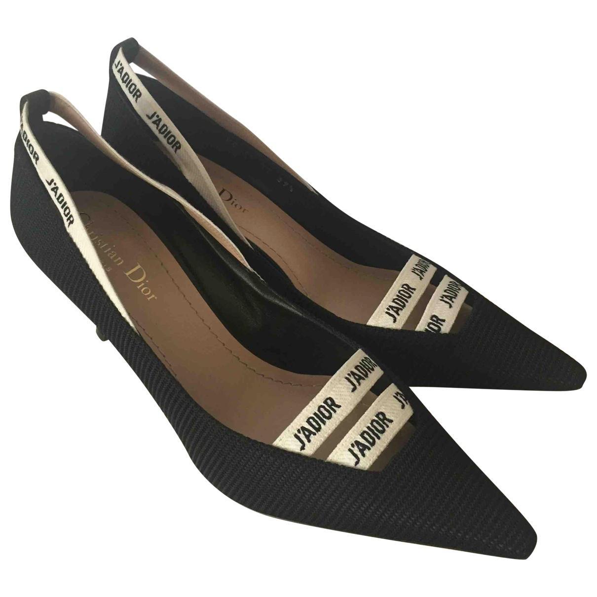 Dior J'a Cloth Heels