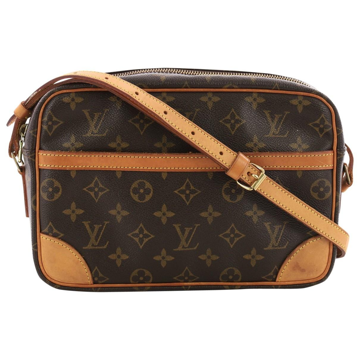 838229325 Louis Vuitton Trocadéro Cloth Crossbody Bag in Brown - Lyst