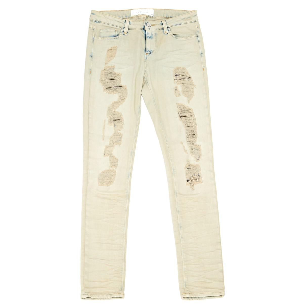 c7c86fd0fd IRO. Women s Natural Ecru Cotton - Elasthane Jeans. £78 From Vestiaire  Collective