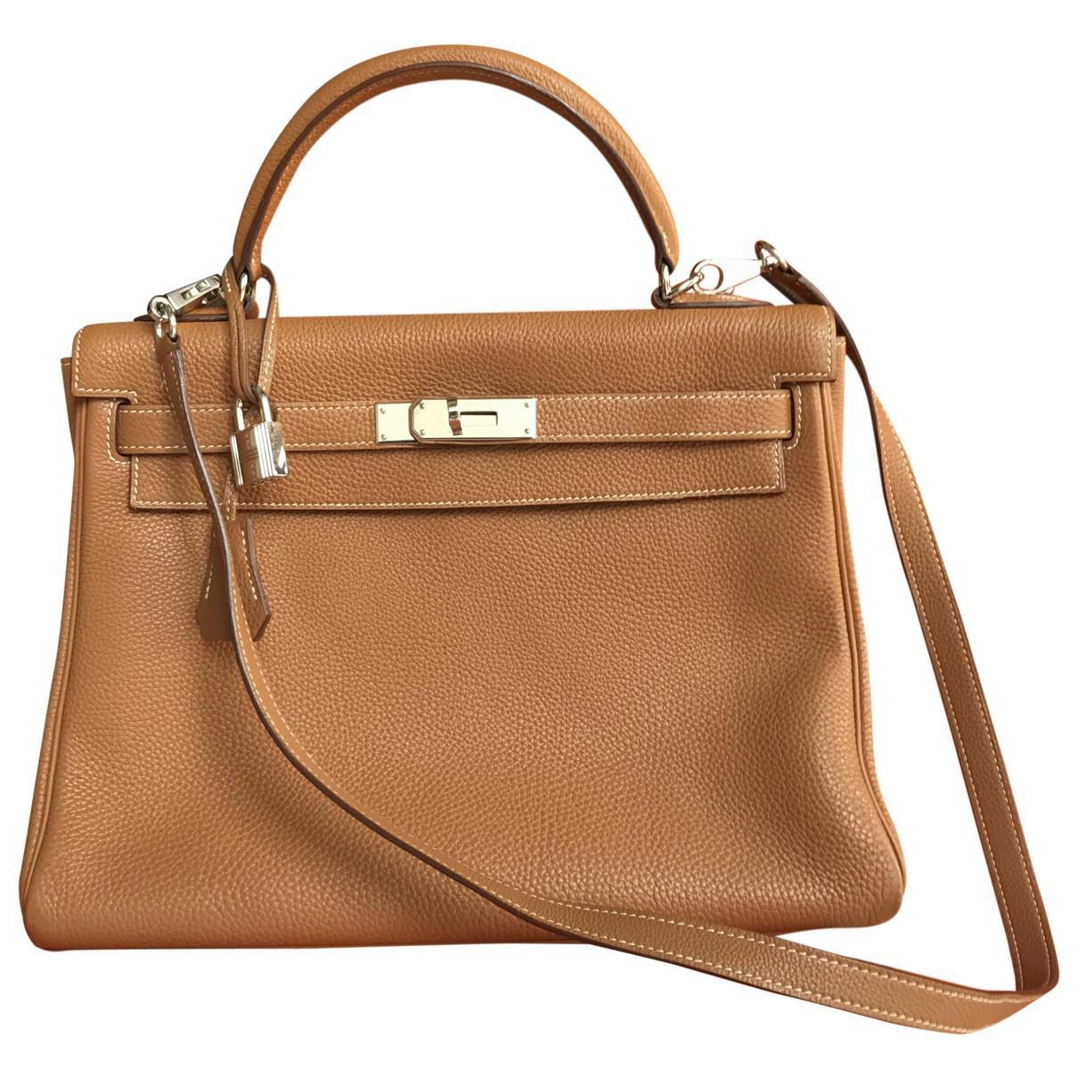 Hermès Pre-owned - Kelly 32 leather handbag FYIeXEO2