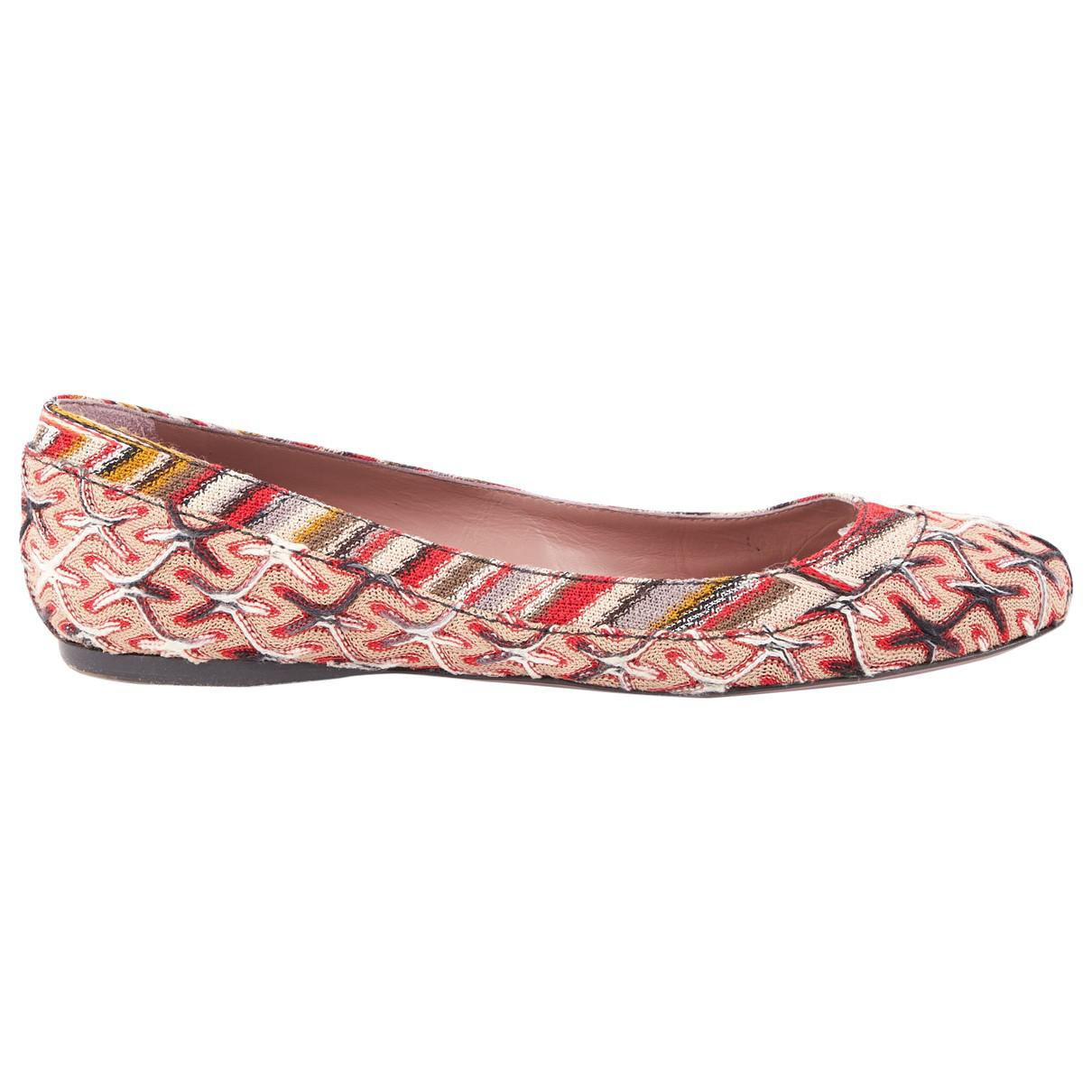 Pre-owned - Cloth ballet flats Missoni lFgAsN