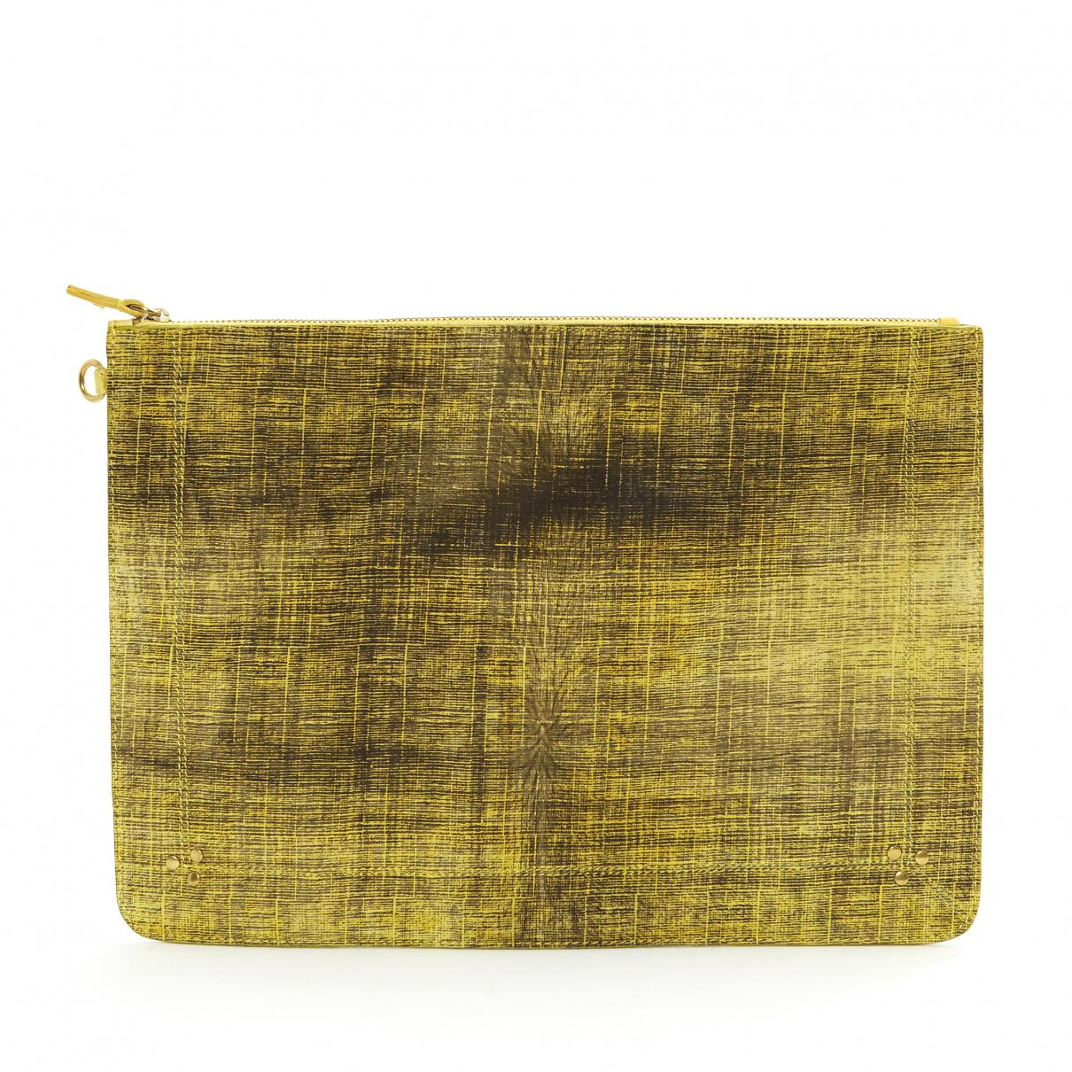 Jerome Dreyfuss Pre-owned - Leather clutch bag t1ZfPH