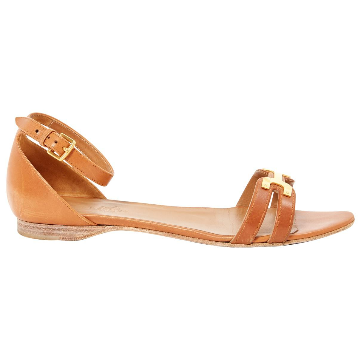 ca6246113dd7 Hermès. Women s Brown Leather Sandals. £389 £350 From Vestiaire Collective