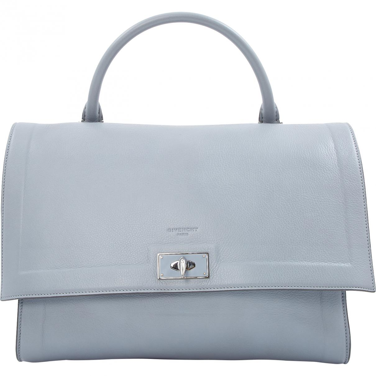 a897c6854e Givenchy Shark Leather Handbag in Gray - Lyst
