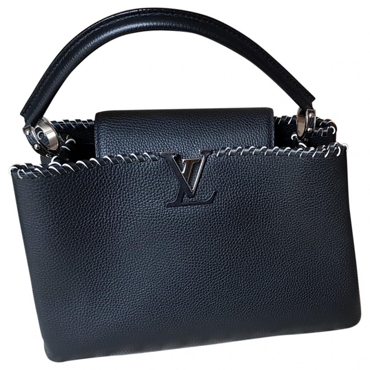 De Segunda Mano - Bolso De Cuero De Louis Vuitton Capucine sA6SgGdOFA