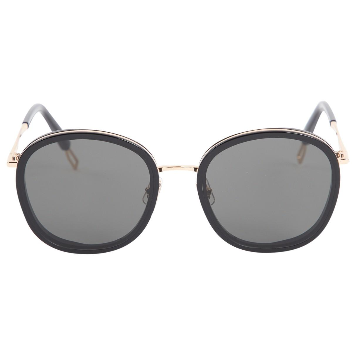 2fc43ba23f80 Lyst - Gentle Monster Black Plastic Sunglasses in Black