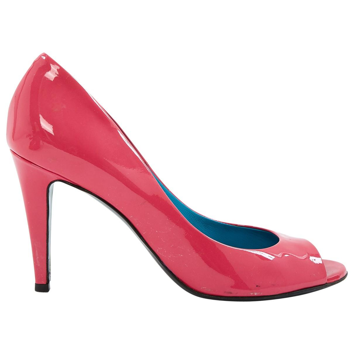 a15a188540f Bottega Veneta. Women s Pink Patent Leather Heels.  253 From Vestiaire  Collective