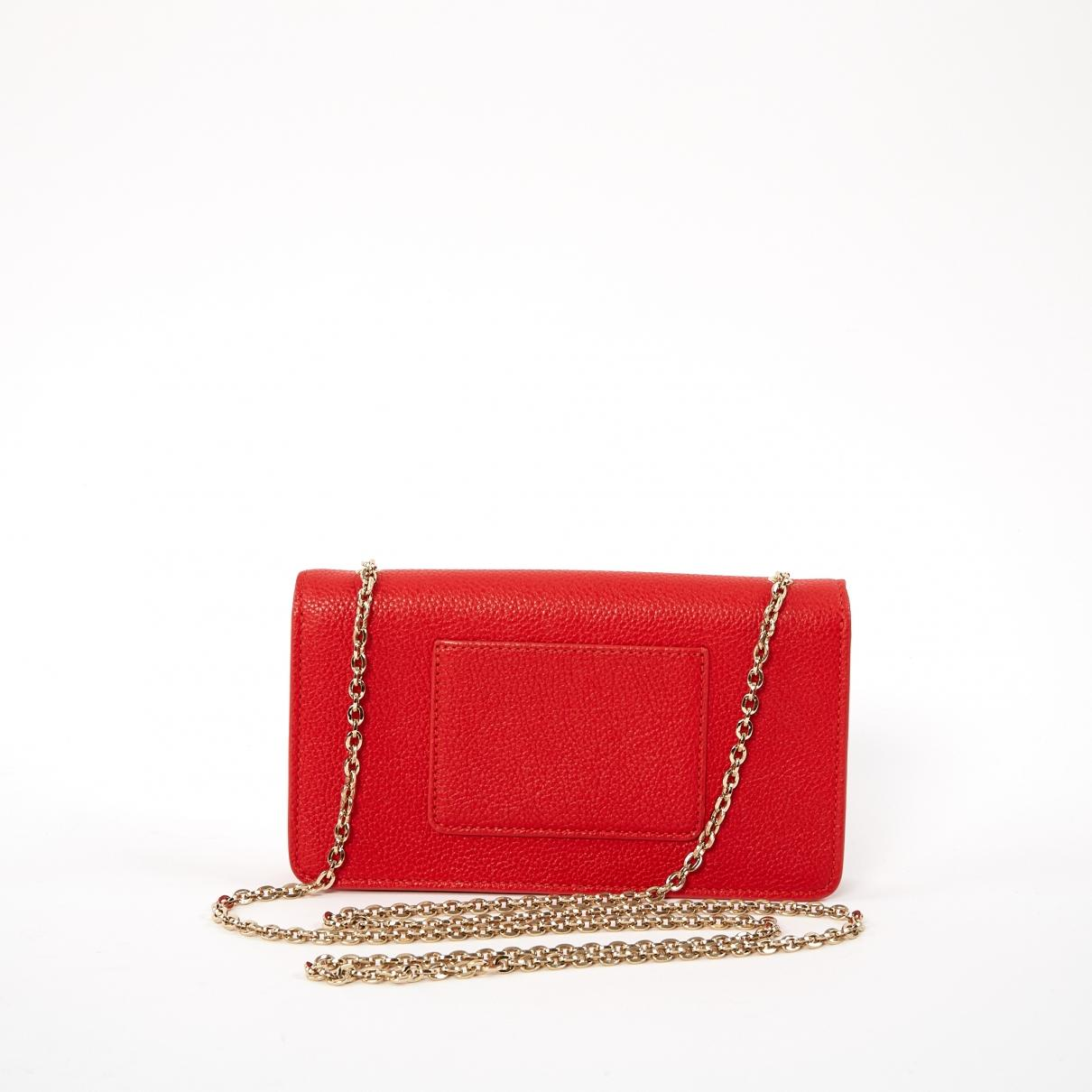 Mulberry - Red Leather Clutch Bag - Lyst. View fullscreen d9c3fca2bd344