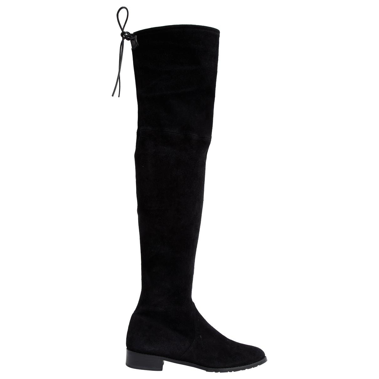 Owned Riding Weitzman Boots In Black Lyst Stuart Pre q7SattA