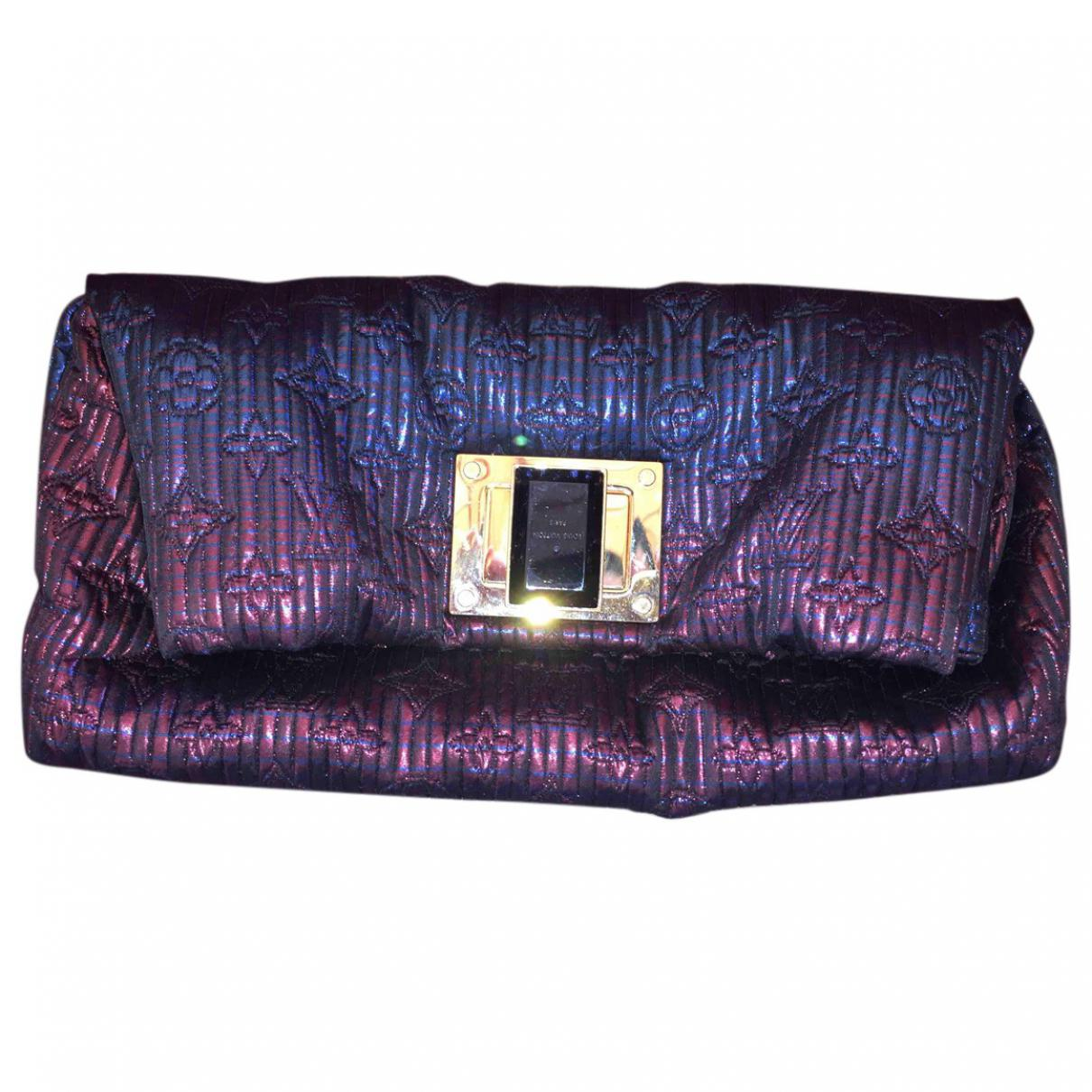 01f54bbf01 Louis Vuitton Clutch Bag in Purple - Lyst