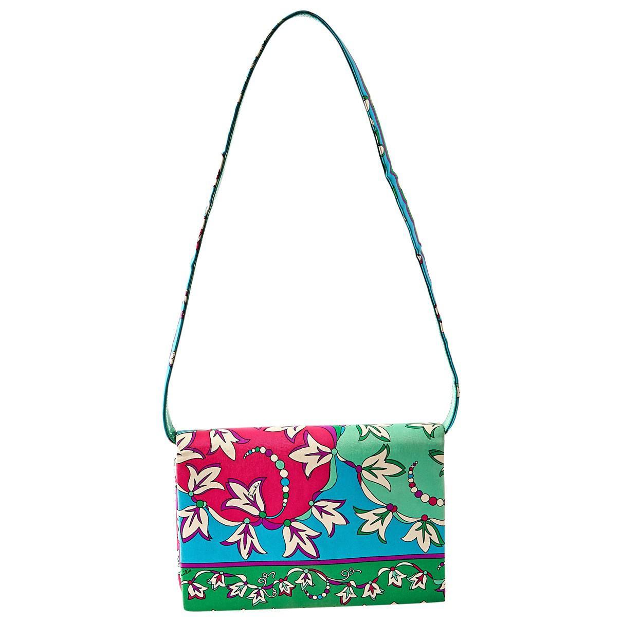 Emilio Pucci Pre-owned - Cloth clutch bag U0h3NyS