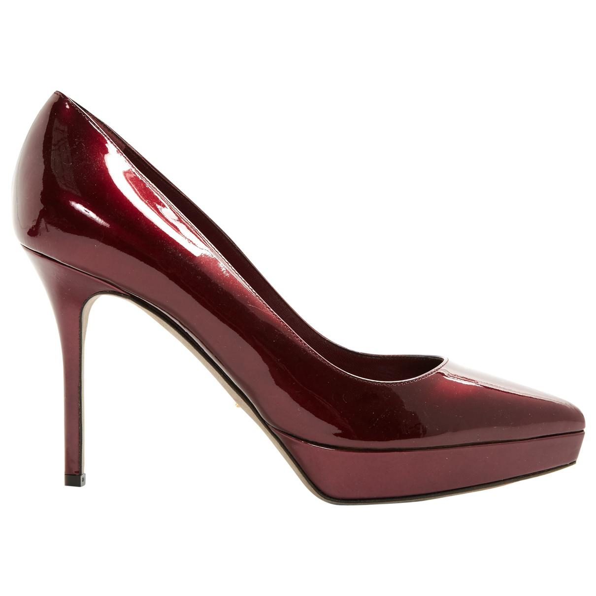 Pre-owned - Patent leather heels Sergio Rossi SE7aye
