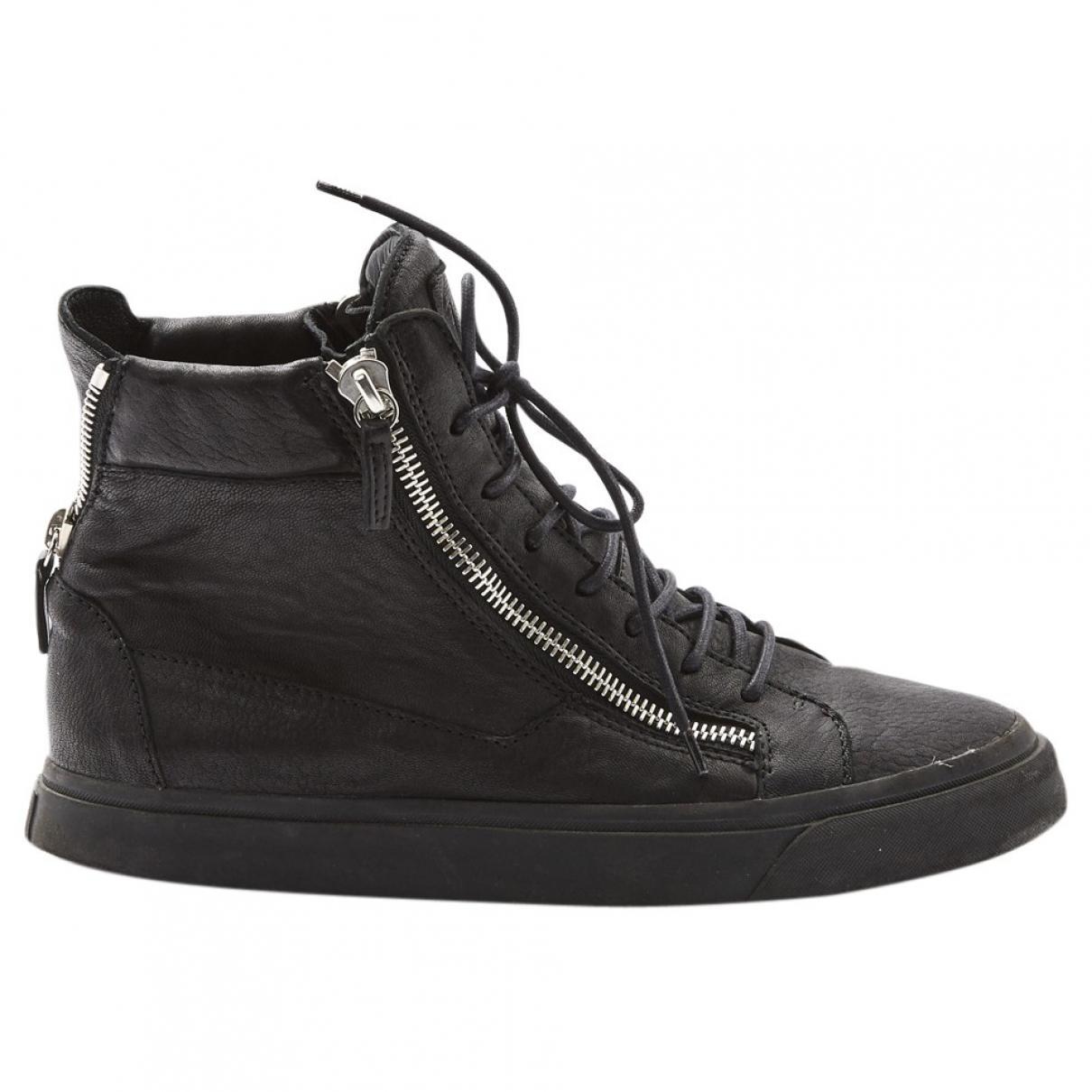 Pre-owned - Leather low trainers Giuseppe Zanotti YoHaFdAi7
