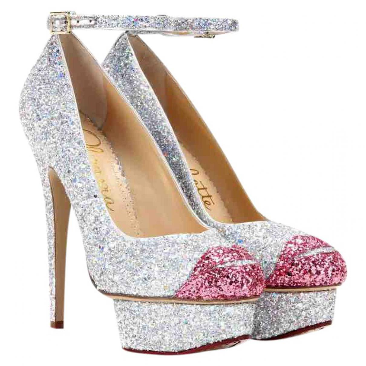 Pre-owned - Glitter heels Charlotte Olympia nKMtGBS