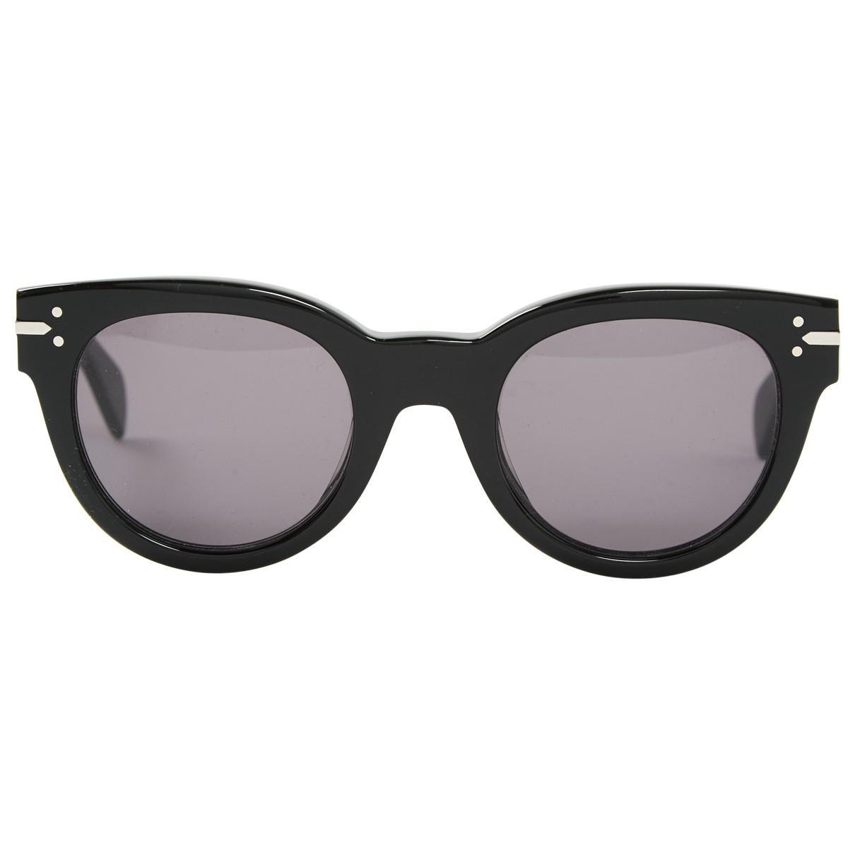 07524b08bebc Lyst - Céline Pre-owned Sunglasses in Black