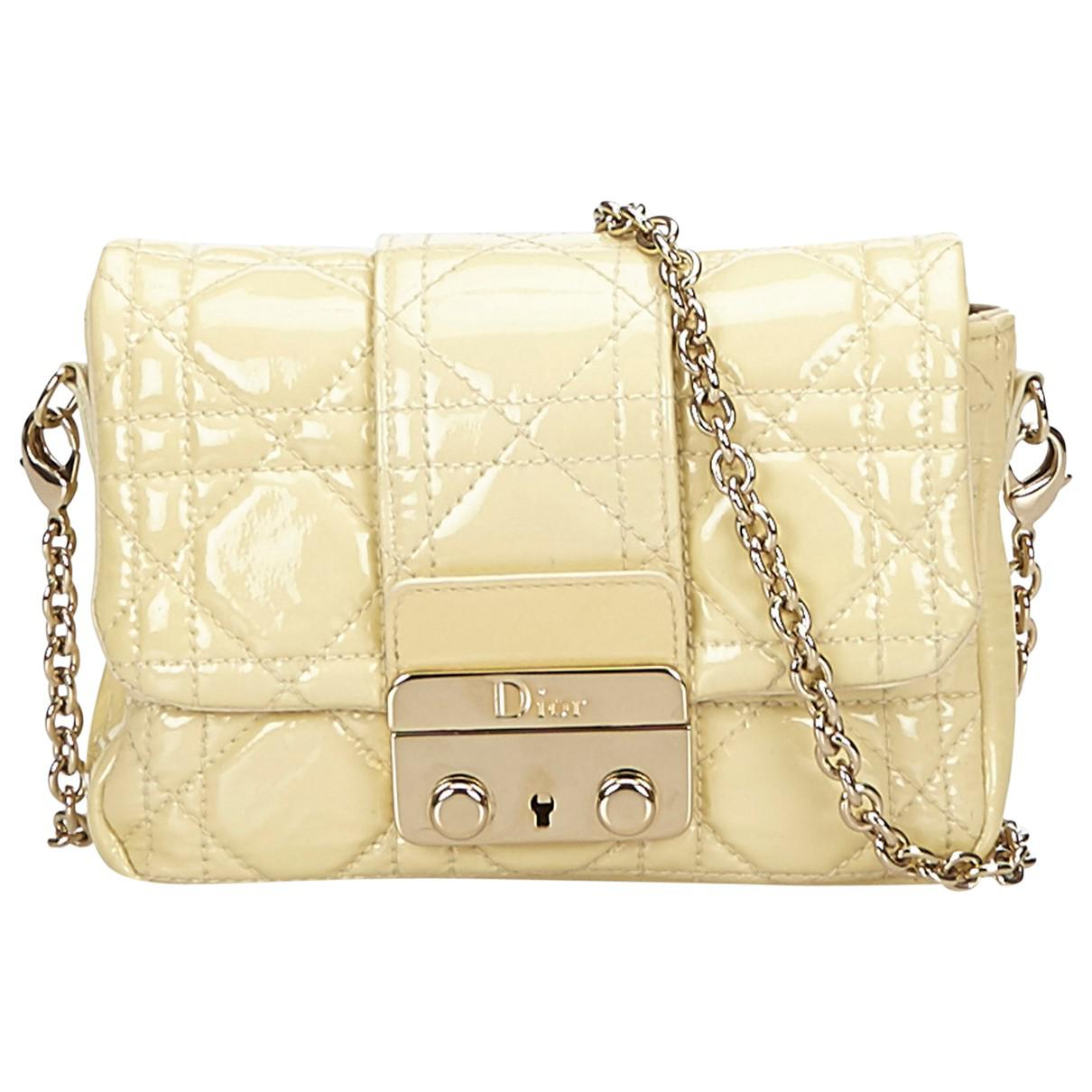 Dior Pre-owned - Yellow Leather Handbag 02ze65vXm
