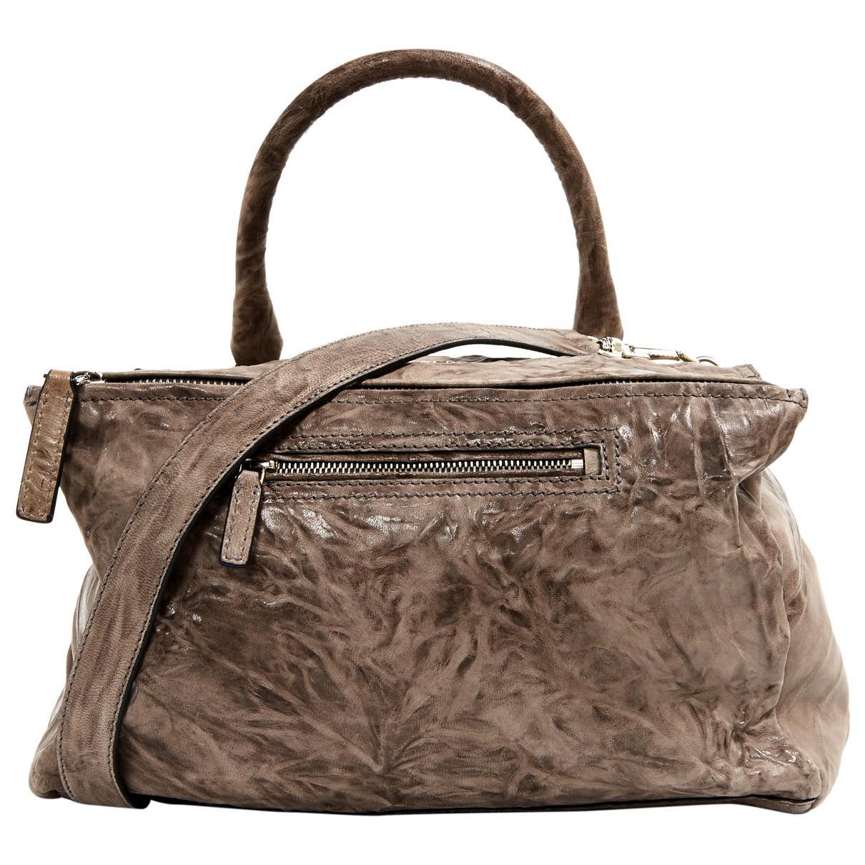 Givenchy Pre-owned - Beige Leather Handbag Pandora 4o8c6s