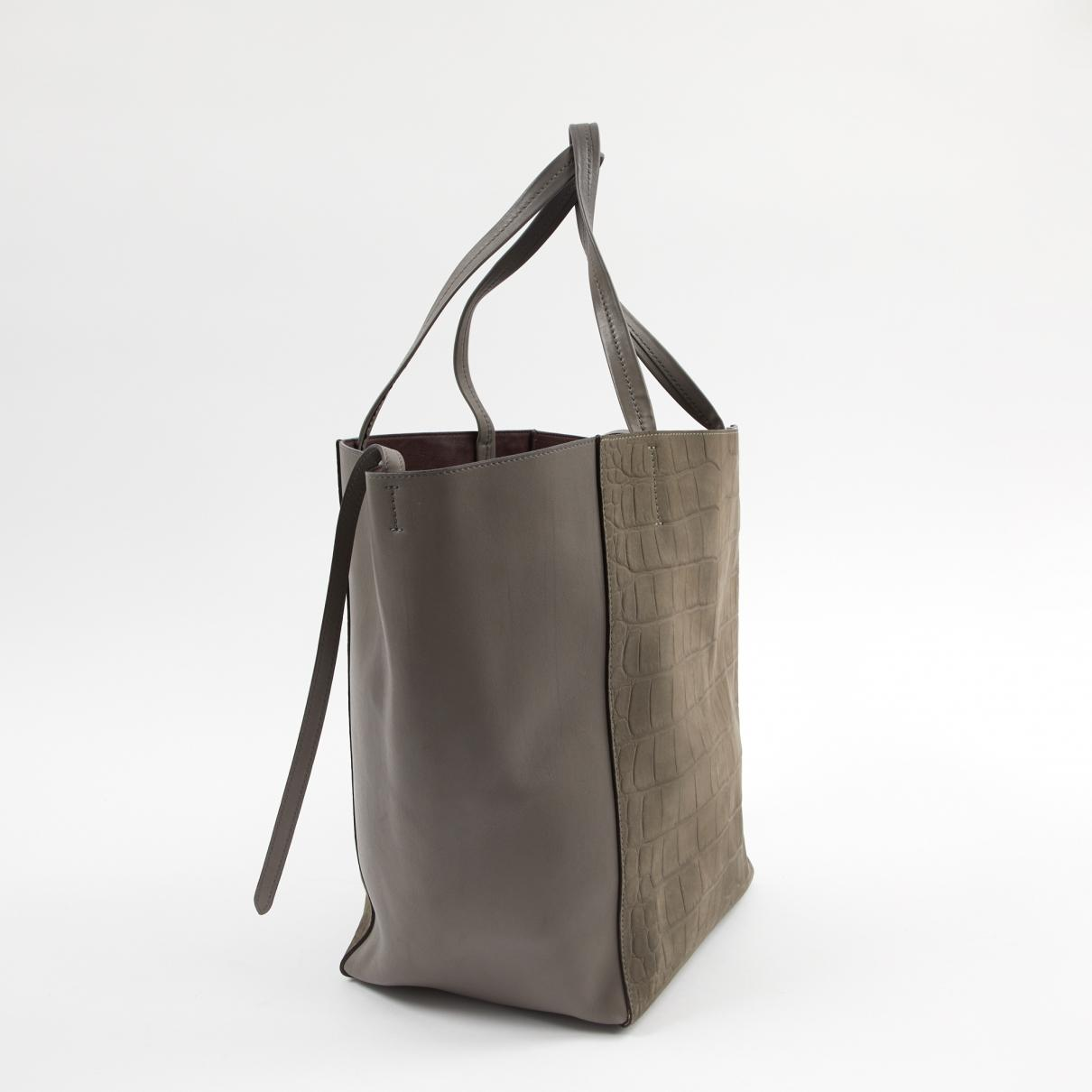 df6cdf9fbd19 Céline - Multicolor Cabas Phantom Other Leather Handbag - Lyst. View  fullscreen