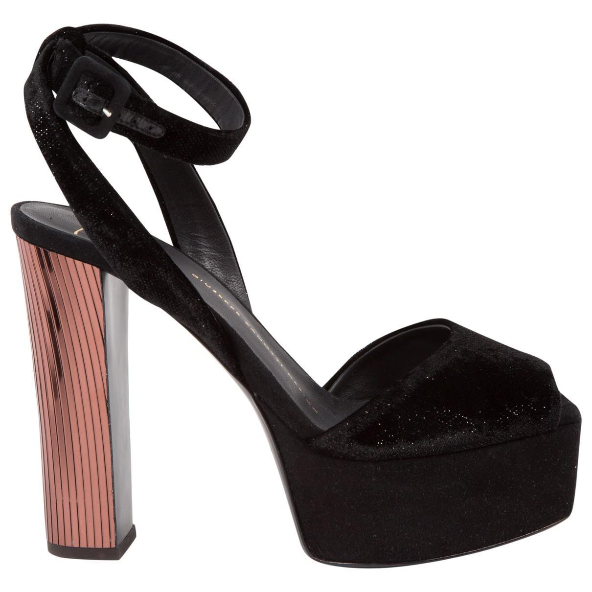Pre-owned - Velvet sandals Giuseppe Zanotti RbMLuLMOFO
