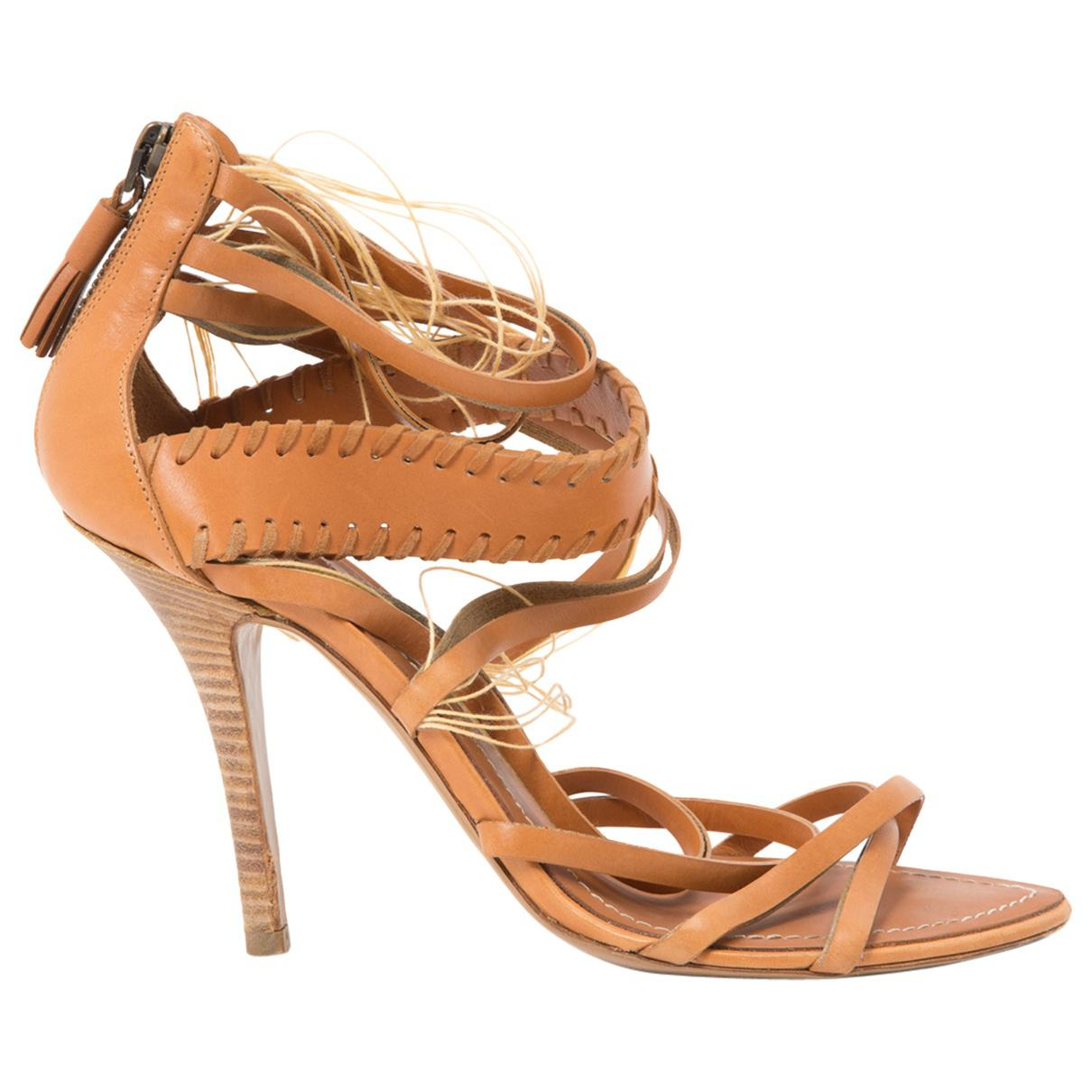 Pre-owned - Patent leather sandals Emilio Pucci RsJWg