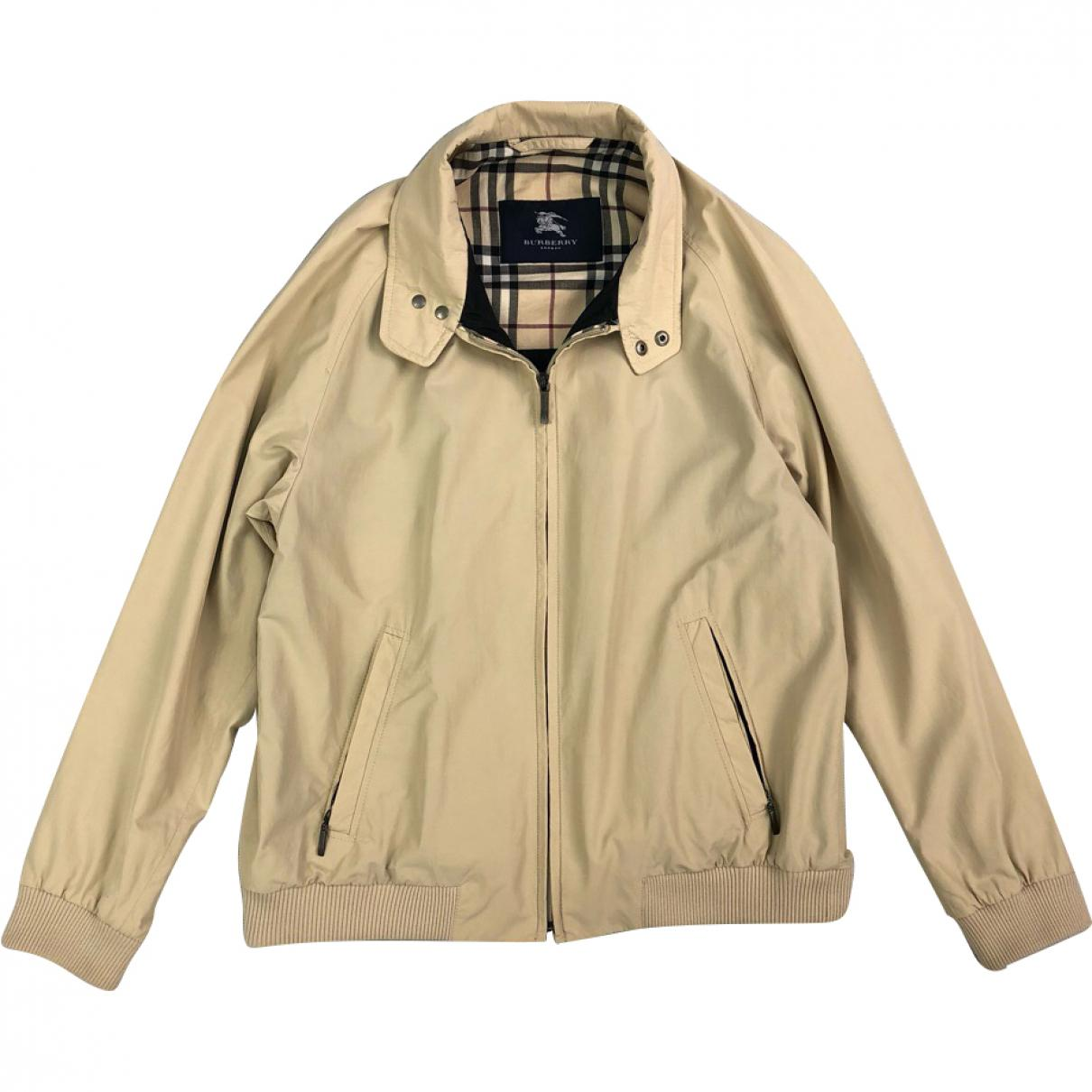 550ad64c333e Burberry Jacket in Natural for Men - Lyst
