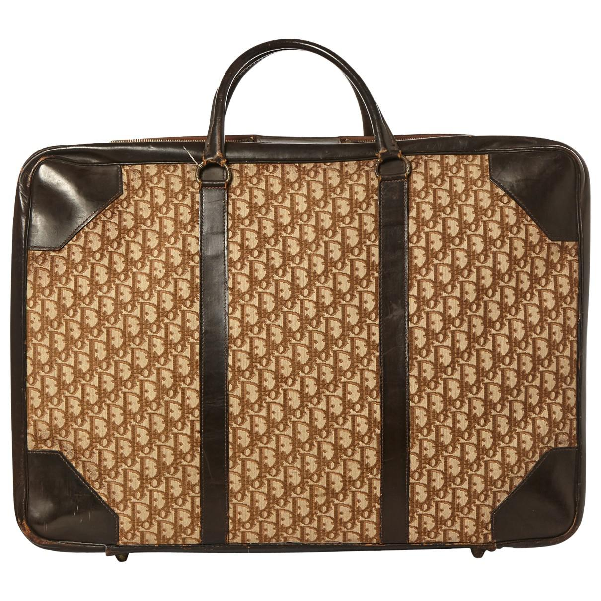 Dior Pre-owned - Cloth travel bag 1qEC0qw