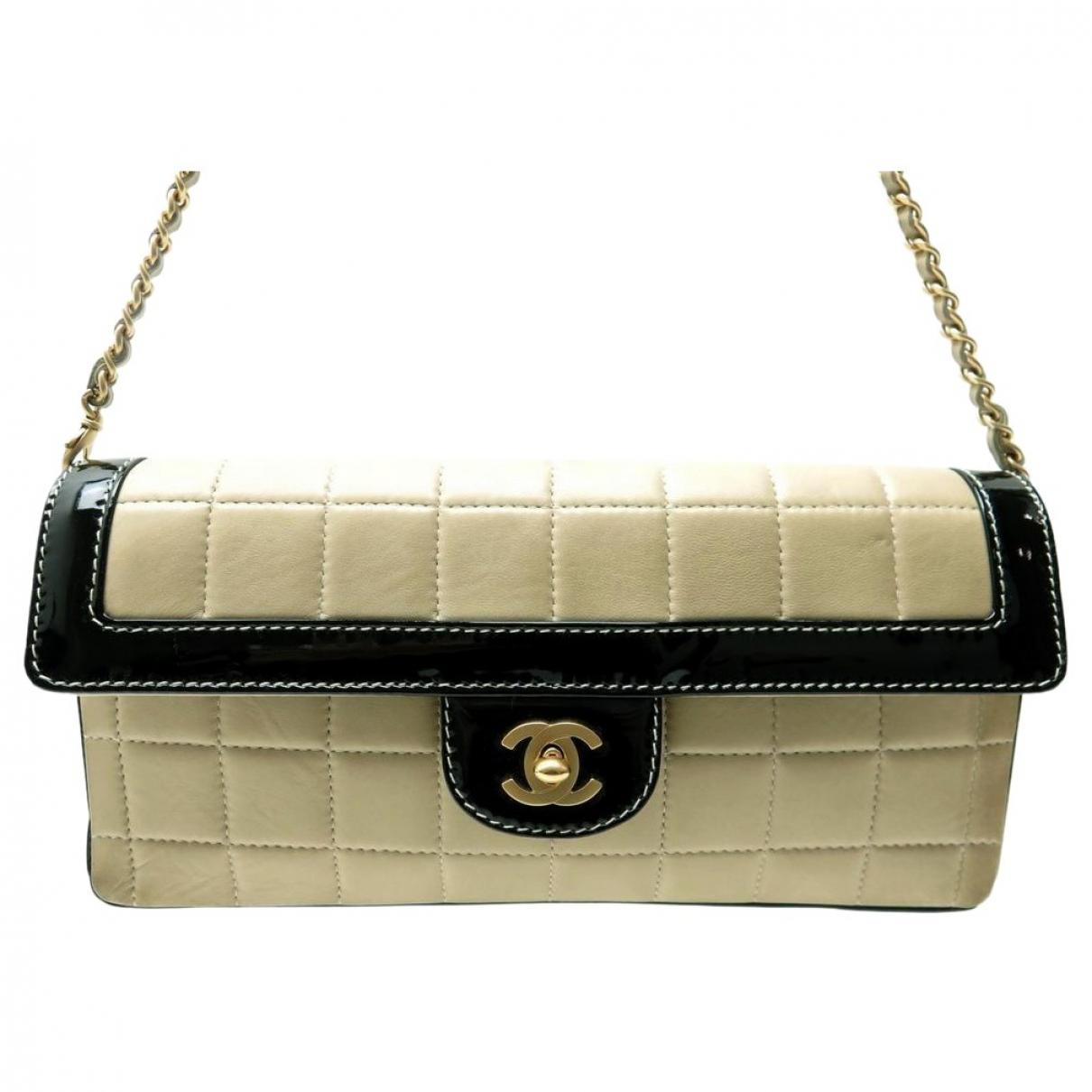 1fc2ad186747 Lyst - Chanel Pre-owned Vintage East West Chocolate Bar Multicolour ...