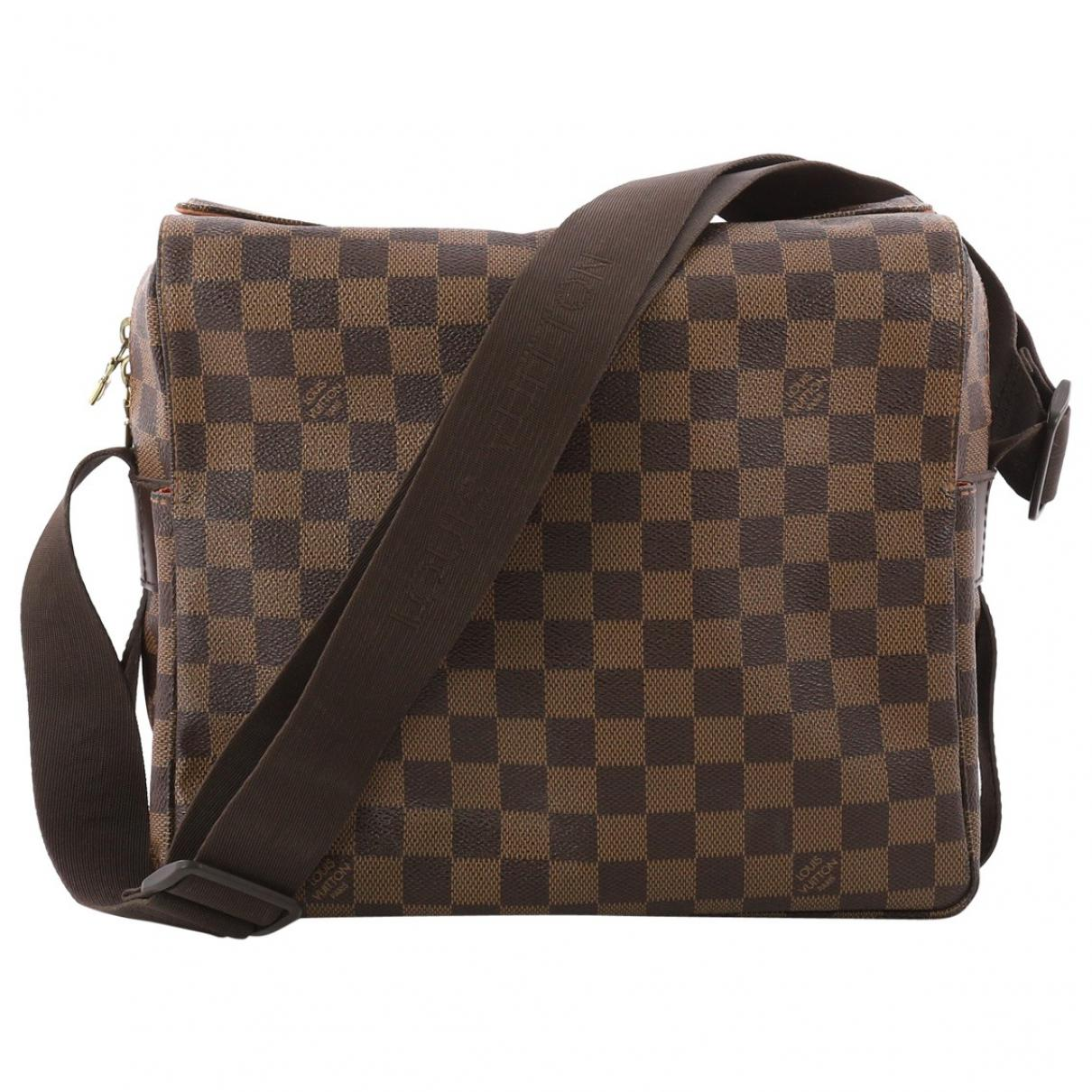 4af10ff1e40c Louis Vuitton Pre-owned Cloth Crossbody Bag in Brown - Lyst