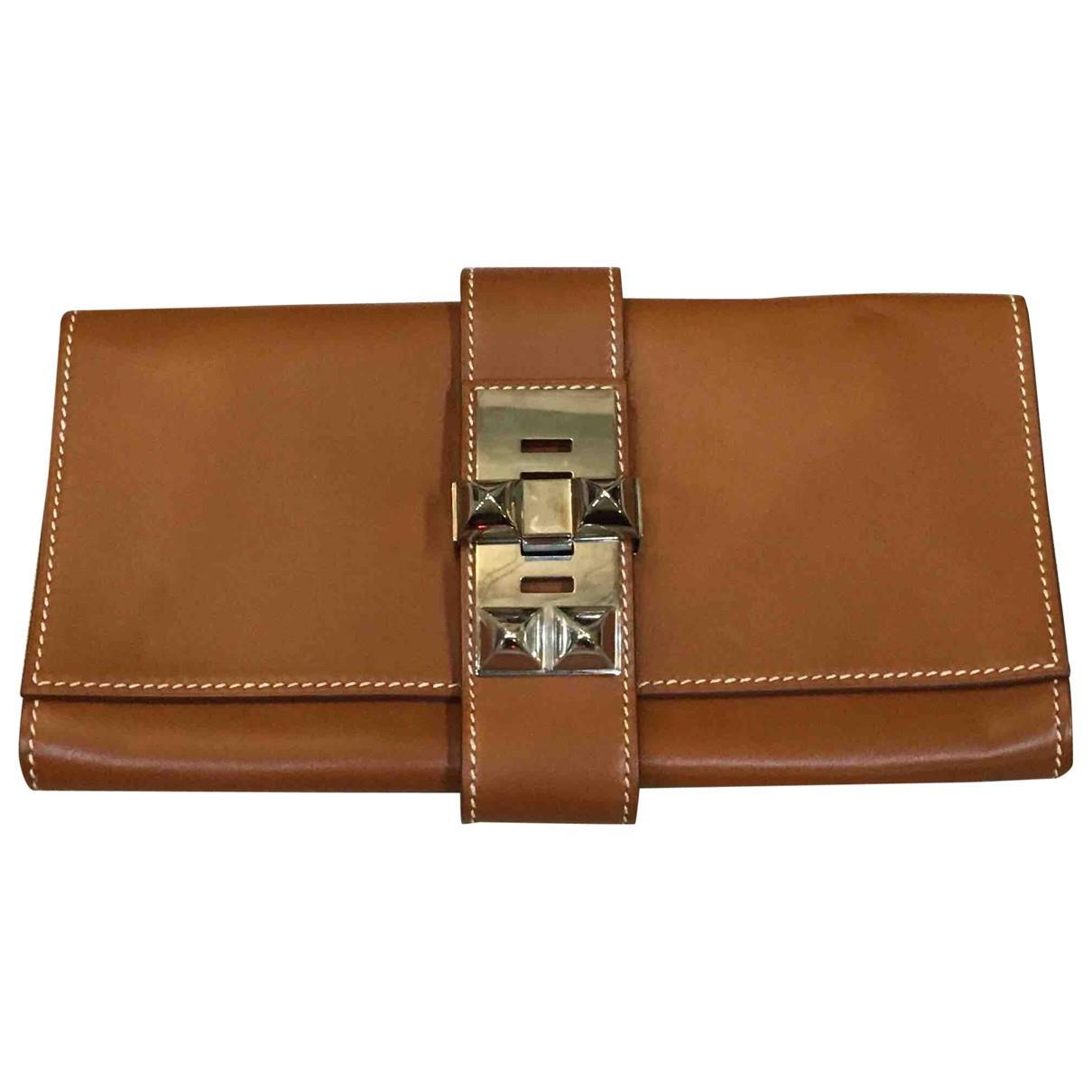 Hermès Pre-owned - Medor leather clutch bag McHp1j