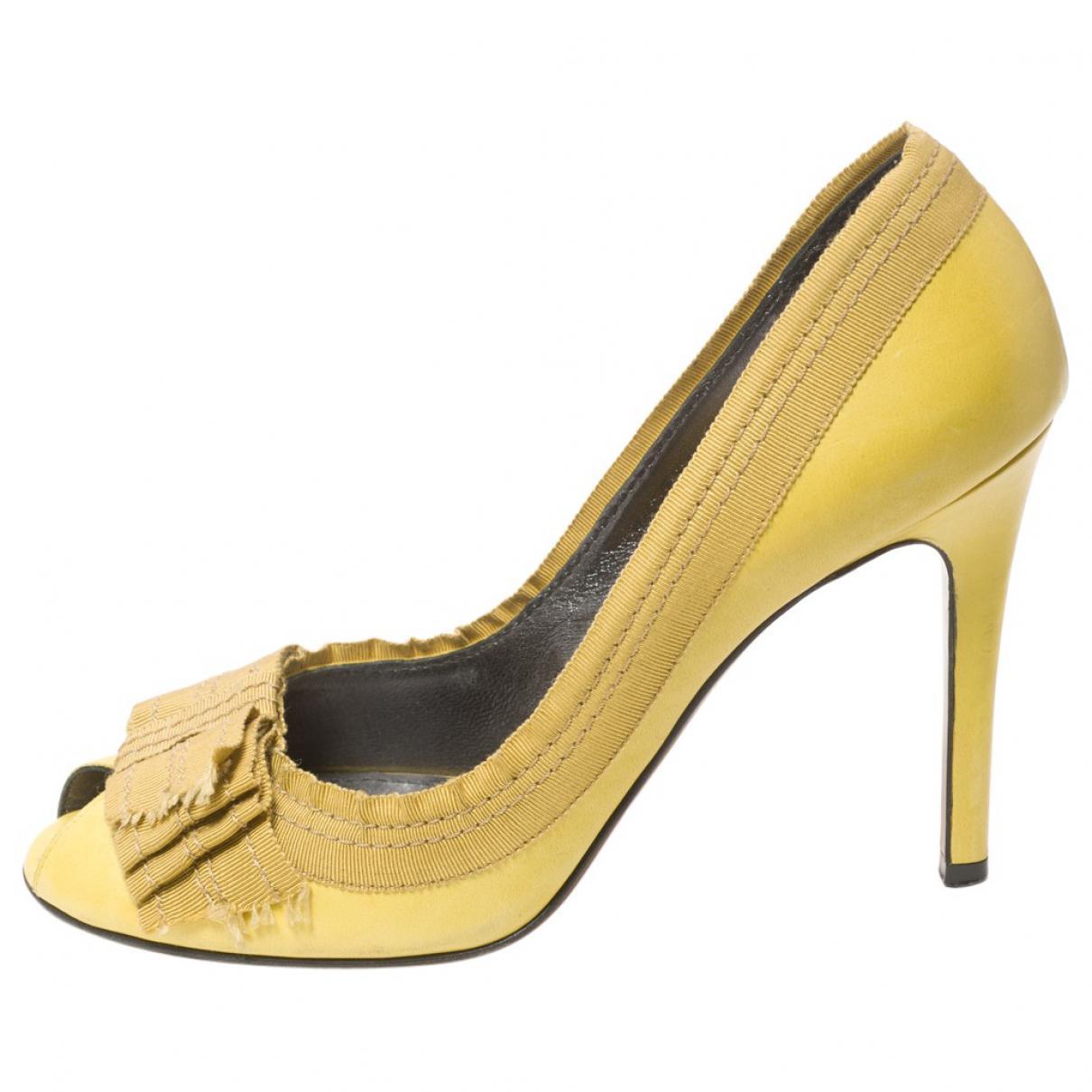 Pre-owned - Yellow Heels Lanvin WhDAN