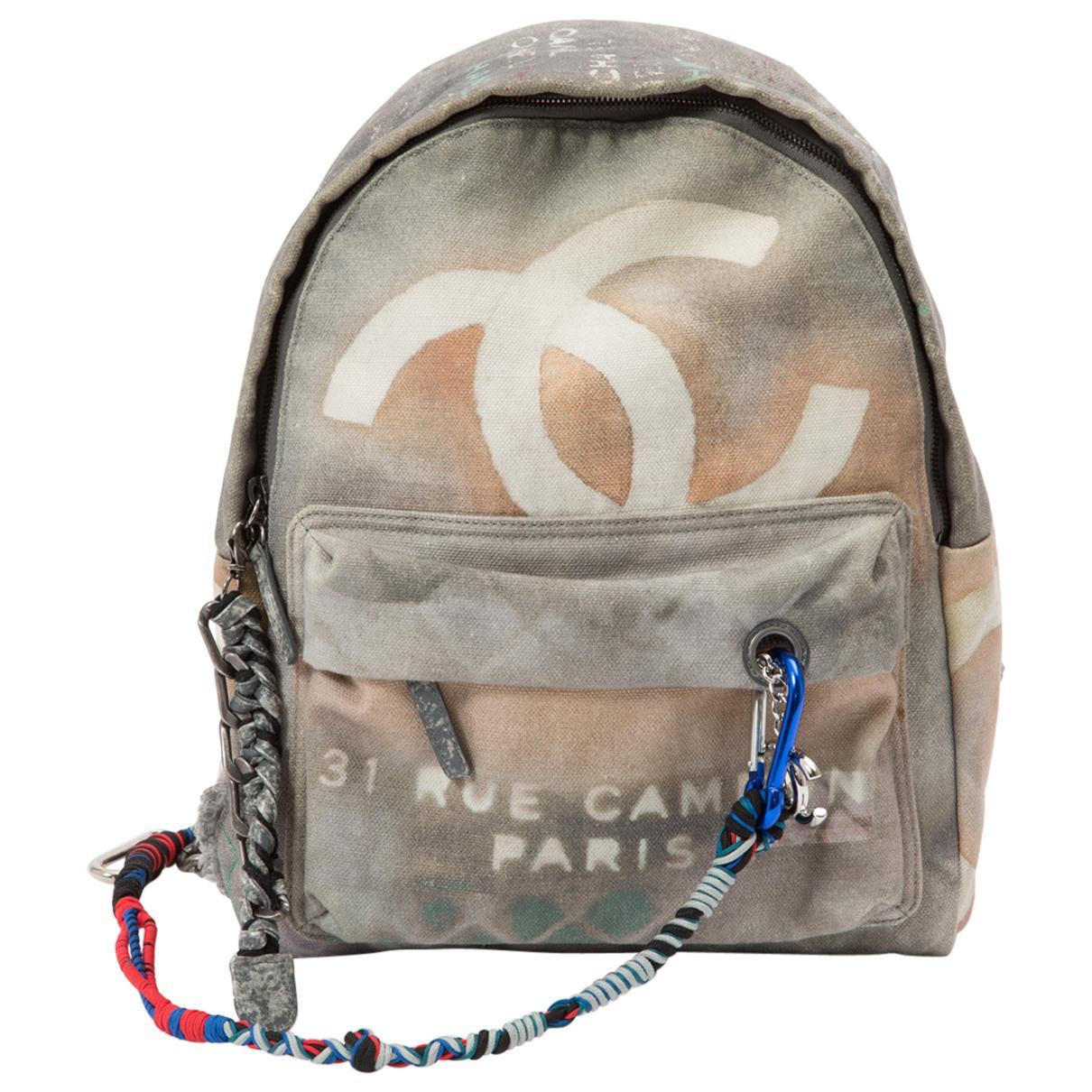 06eda600a6df Chanel Graffiti Backpack - Lyst