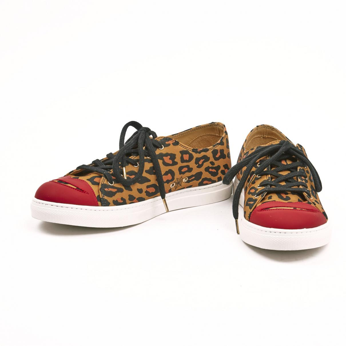 Pre-owned - Canvas trainers Charlotte Olympia Buy Cheap Pay With Paypal Cheap Great Deals WpjJl