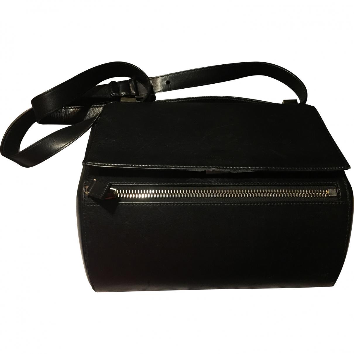 fe1f2c254486 Lyst - Givenchy Pandora Box Leather Crossbody Bag in Black