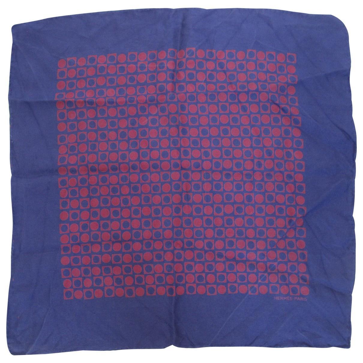 93afd662d730 Lyst - Foulard Gavroche 45 en soie Hermès pour homme en coloris Violet