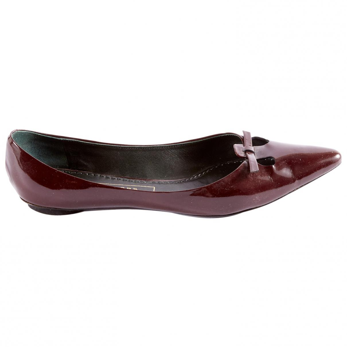 Pre-owned - Patent leather ballet flats Marc Jacobs 4MFBr0zQ