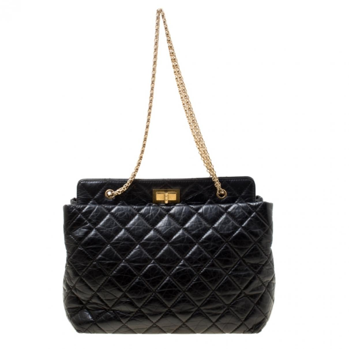 8d9b23192ccf80 Chanel. Women's Pre-owned Black Leather Handbags. $2,906 From Vestiaire  Collective