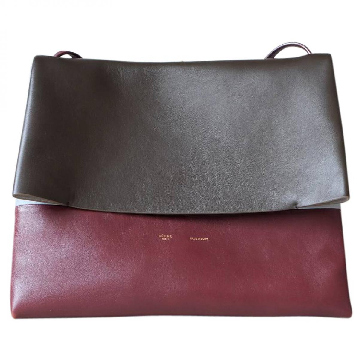 6951d74a4f Lyst - Céline Pre-owned All Soft Leather Handbag in Purple
