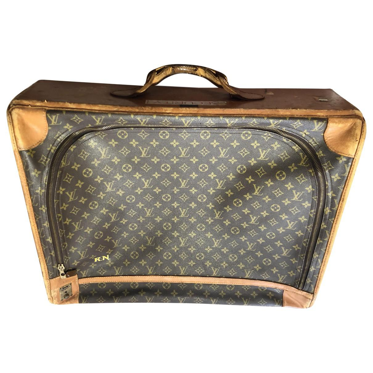 Pre-owned - Leather 24h bag Louis Vuitton Fw5kNo4