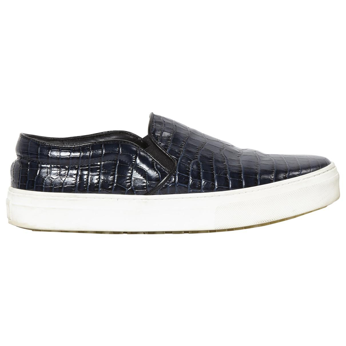 Pre-owned - Patent leather trainers Celine 8QN3fsgfsJ