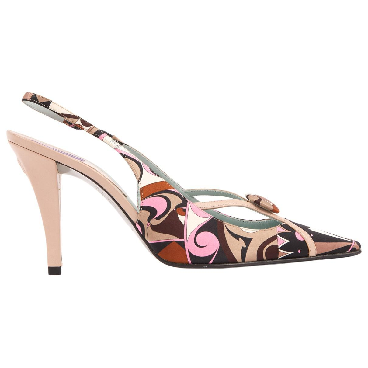 Pre-owned - Black Heels Emilio Pucci XAaxV