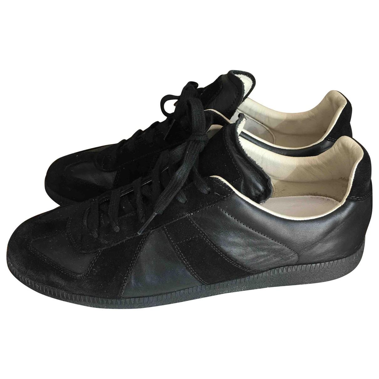 Pre-owned - Leather low trainers Maison Martin Margiela G8kHExcDXQ