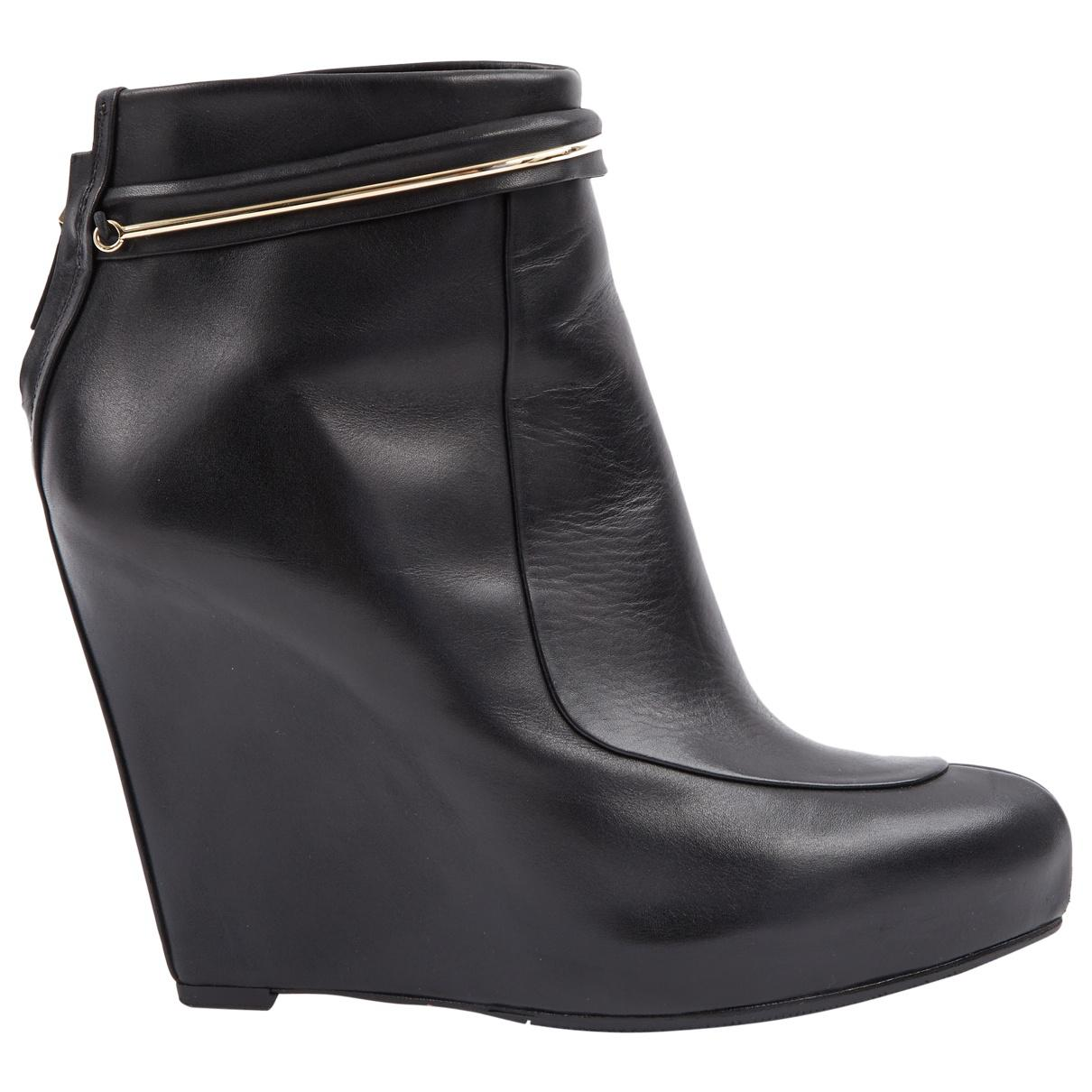 Pre-owned - Leather boots Givenchy Shop Offer Cheap Price Authentic MYNPnXiBU