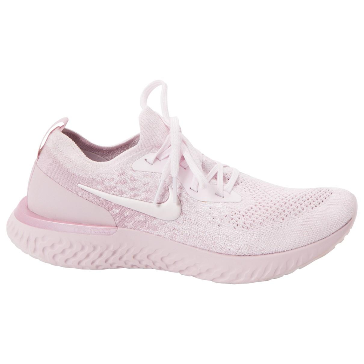 premium selection 849e6 4fc07 Lyst - Nike Cloth Trainers in Pink