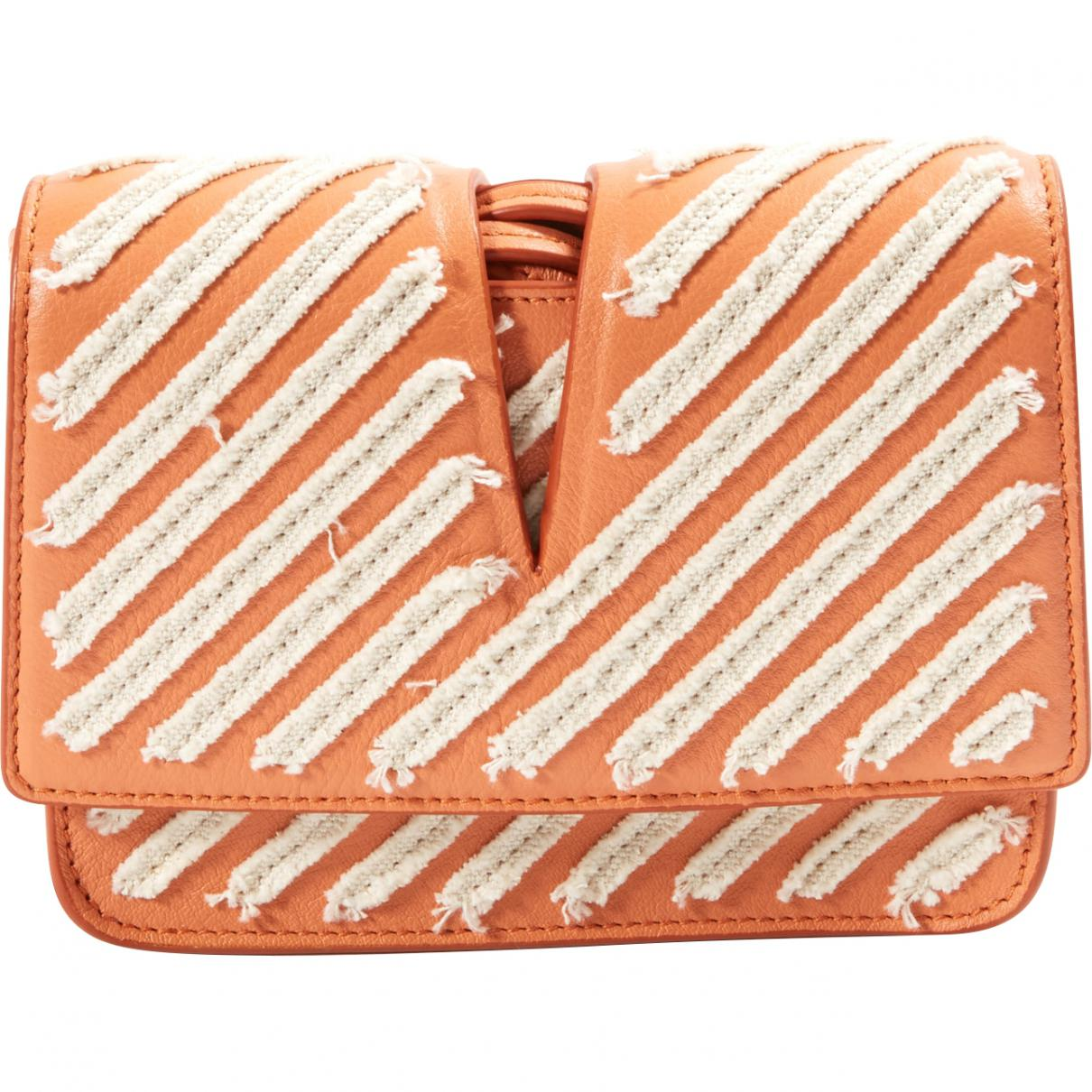 Jil Sander Pre-owned - Leather clutch bag UenKP4U7JX