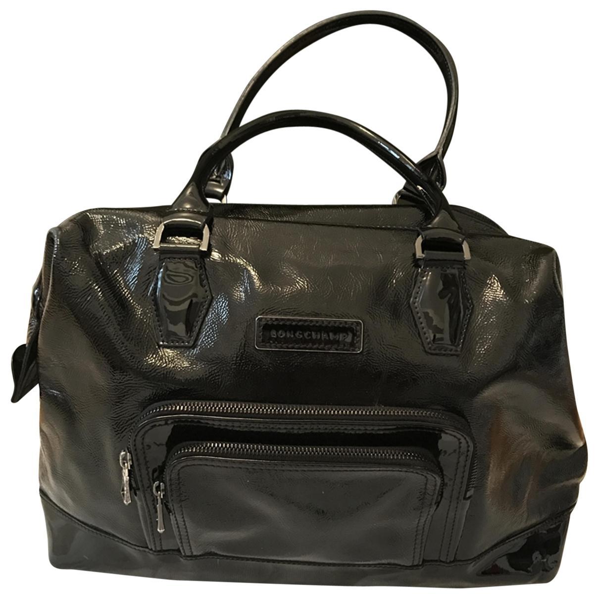 bdaf6ee1dbed Longchamp. Women s Black Légende Leather Handbag.  137 From Vestiaire  Collective