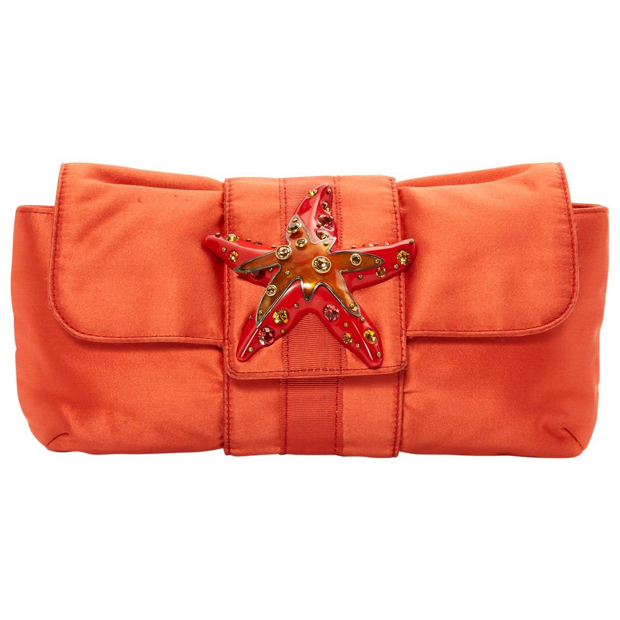Lanvin Pre-owned - Cloth clutch bag