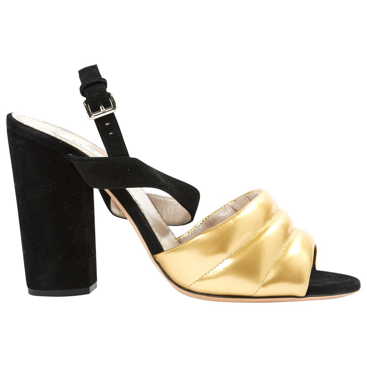 Pre-owned - Leather heels Marc Jacobs Discount 2018 Cheap Sale Latest Collections Clearance Affordable q3WasGQU