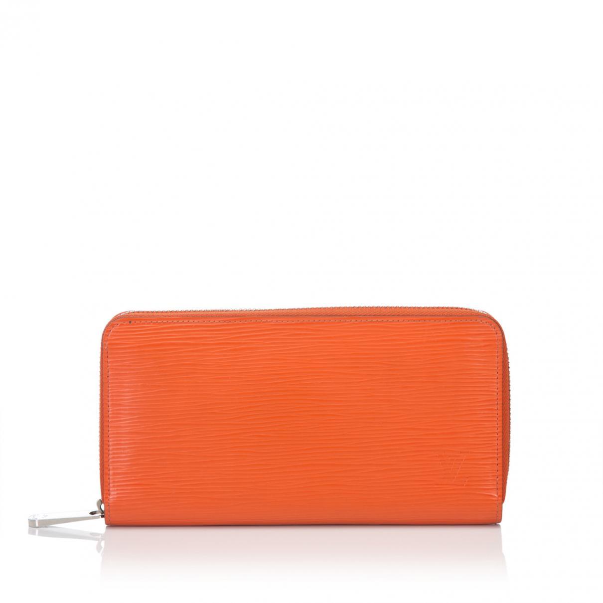 246cbdf7e7b1 Louis Vuitton Piment Epi Leather Zippy Wallet in Orange - Save 31 ...