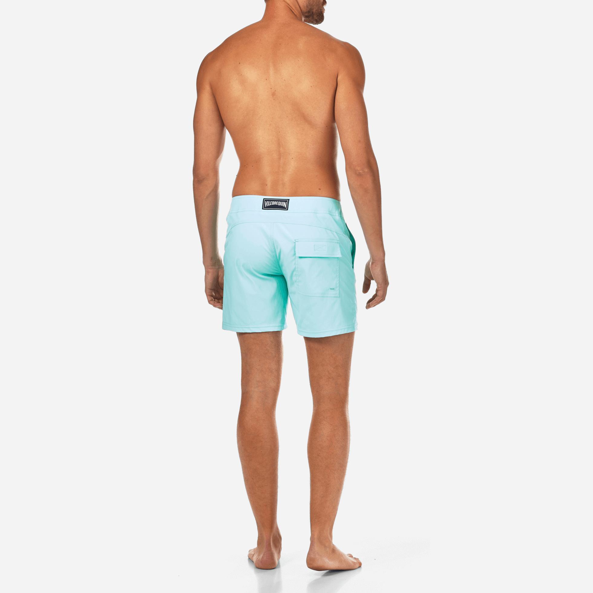 017bc7f317 Vilebrequin Men Flat Belt Stretch Swimwear Solid in Blue for Men - Lyst