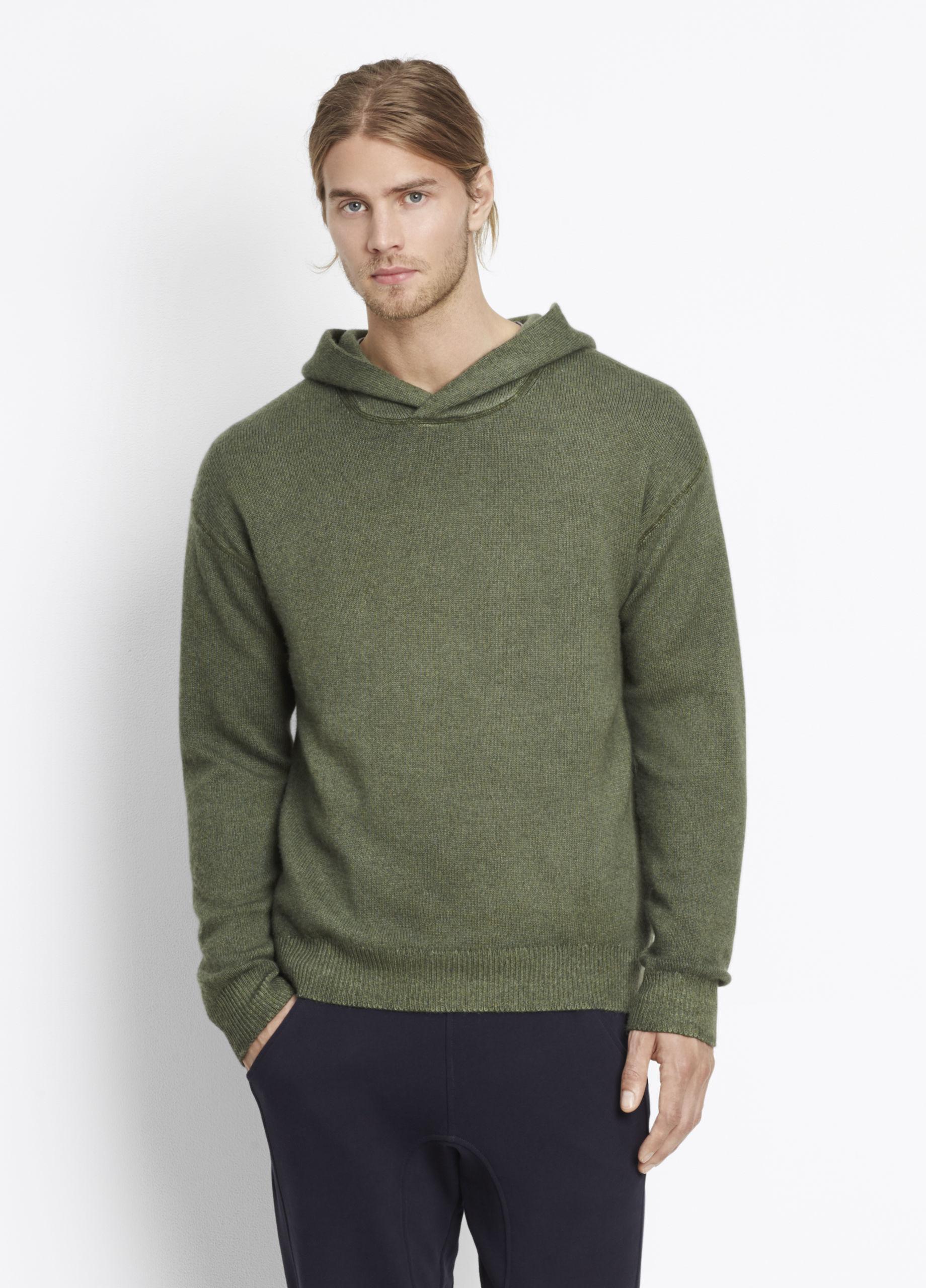 Green pullover hoodie